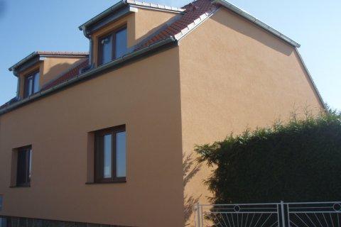 Fasáda rodinného domu v Plzni - Černicích