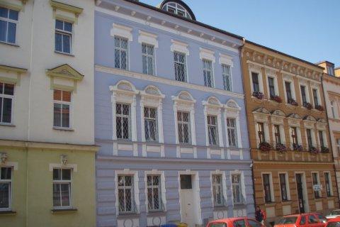 Rekonstrukce fasády - administrativní objekt Plzeň - Houškova ul.