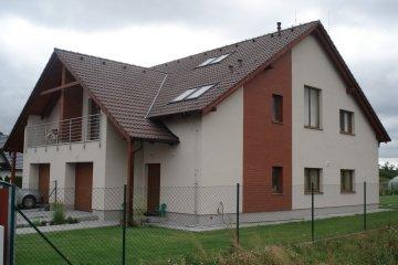 Rodinný dvojdům Plzeň-Radobyčice