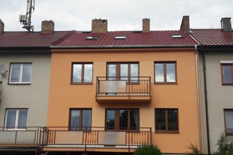 Oprava střechy - řadový dům Plzeň