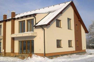 Fasáda rodinného domu v Plzni - Radobyčicích