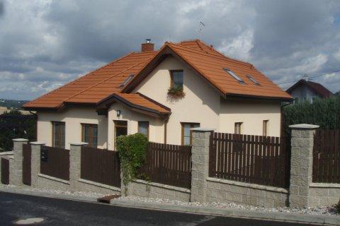 Střecha rodinného domu - Plzeň Černice