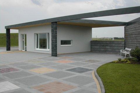 Střecha vzorového domu BEST, a.s. - Lučice