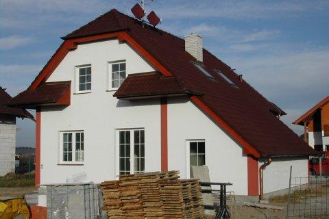 Střechy rodinných domů - Plzeň-Bručná