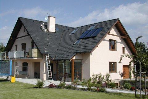 Střecha rodinného domu Štěnovice