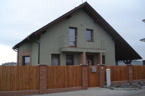 Střecha rodinného domu Plzeň-Černice