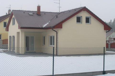 Střecha rodinného domu ve Třemošné
