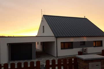 Střecha novostavby - Letkov