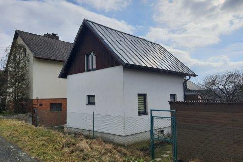 Rekonstrukce střechy chaty - Litice